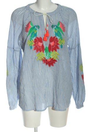 Boden Long Sleeve Blouse flower pattern casual look