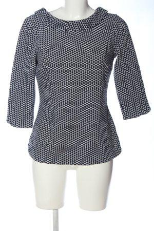 Boden Bluzka z długim rękawem czarny-biały W stylu casual