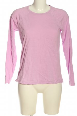 Boden Langarm-Bluse pink Casual-Look