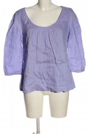 Boden Langarm-Bluse lila Casual-Look