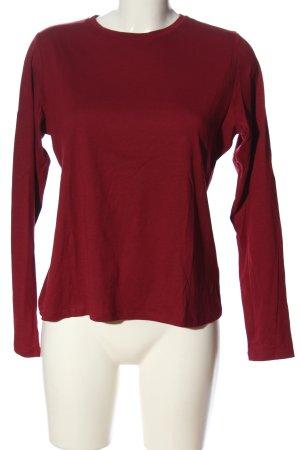 Boden Koszulka z długim rękawem czerwony W stylu casual