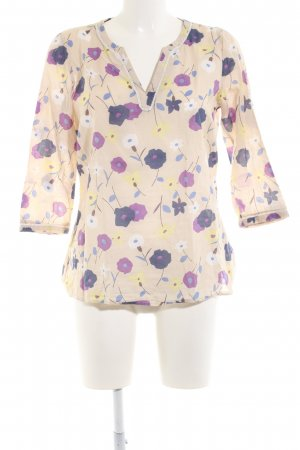 Boden Langarm-Bluse Blumenmuster Casual-Look