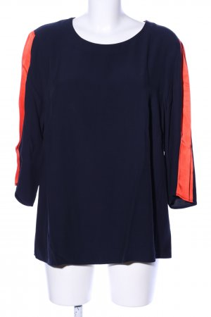 Boden Long Sleeve Blouse blue-light orange casual look