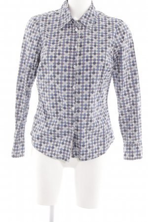 Boden Langarmhemd Allover-Druck Casual-Look