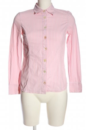 Boden Langarmhemd pink-weiß Allover-Druck Casual-Look