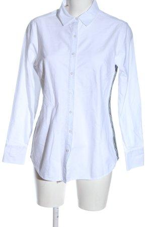 Boden Chemise à manches longues blanc style décontracté