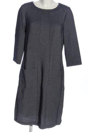 Boden Sukienka z długim rękawem czarny-biały W stylu casual