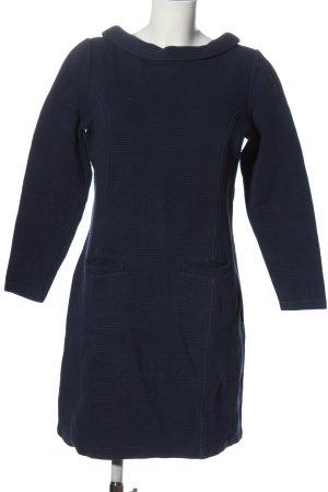 Boden Langarmkleid blau Streifenmuster Casual-Look