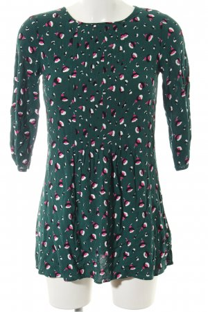 Boden Longsleeve Dress green allover print casual look