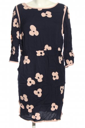 Boden Longsleeve Dress blue-cream allover print casual look