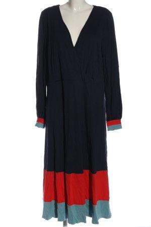 Boden Sukienka z długim rękawem niebieski-czerwony W stylu casual