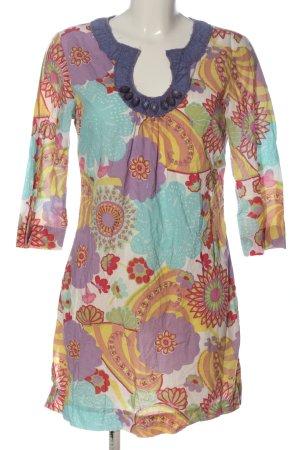 Boden Sukienka z długim rękawem Abstrakcyjny wzór W stylu casual