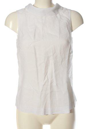 Boden Blusa de lino blanco look casual