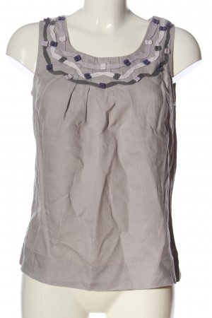 Boden Linen Blouse light grey-natural white casual look