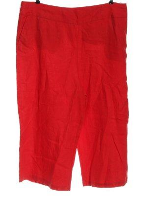 Boden Pantalon en lin rouge style décontracté