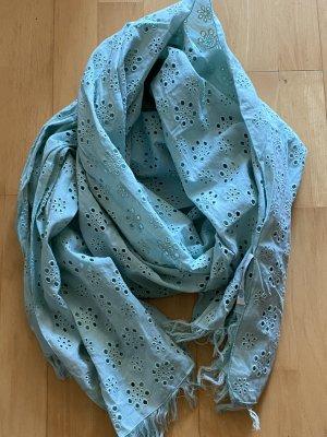 Boden Summer Scarf baby blue cotton