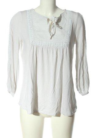 Boden Blusa a tunica bianco stile casual