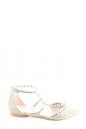 Boden Chaussures Mary Jane blanc style décontracté