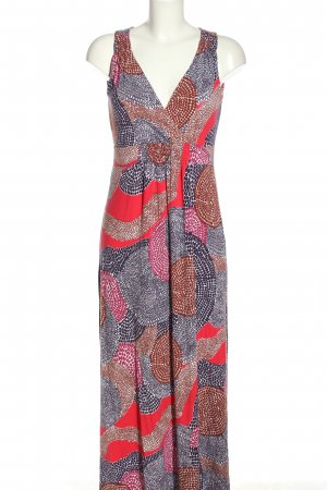 Boden Maxi Dress abstract pattern casual look