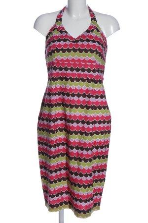 Boden Sukienka midi Abstrakcyjny wzór W stylu casual