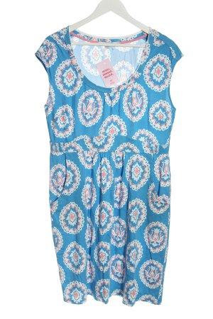 Boden Sukienka z krótkim rękawem Abstrakcyjny wzór W stylu casual
