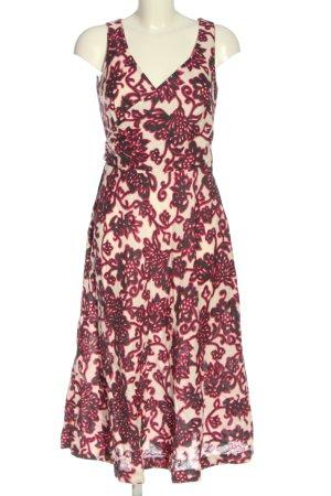 Boden Midi Dress abstract pattern elegant