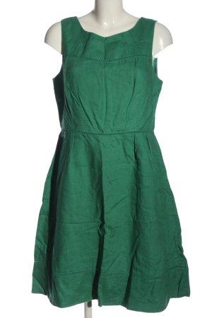 Boden A-Linien Kleid grün Casual-Look