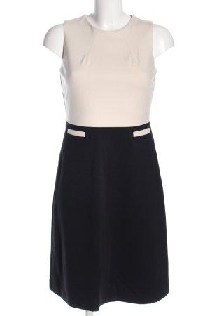 Boden Sukienka midi czarny-w kolorze białej wełny W stylu biznesowym