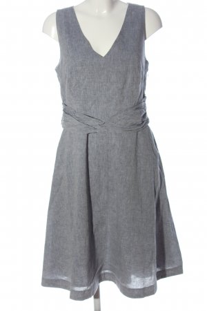 Boden Midi Dress light grey flecked elegant