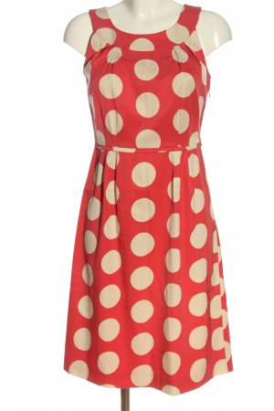 Boden Midi-jurk rood-room gestippeld patroon casual uitstraling