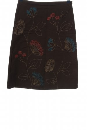 Boden Rok met hoge taille abstract patroon casual uitstraling