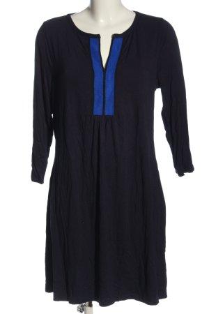 Boden Minikleid blau-schwarz Casual-Look