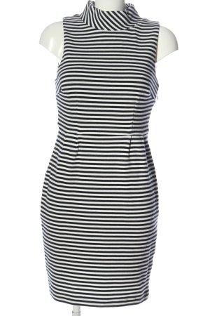Boden Mini Dress black-white allover print casual look