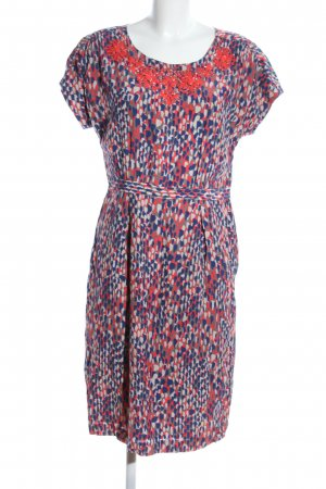 Boden Minikleid abstraktes Muster Casual-Look