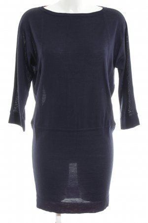 Boden Strickkleid blau Casual-Look Wolle