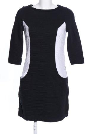 Boden Minikleid schwarz-weiß Business-Look