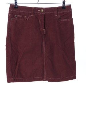 Boden Mini rok bruin casual uitstraling