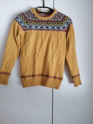 Boden Maglione di lana multicolore