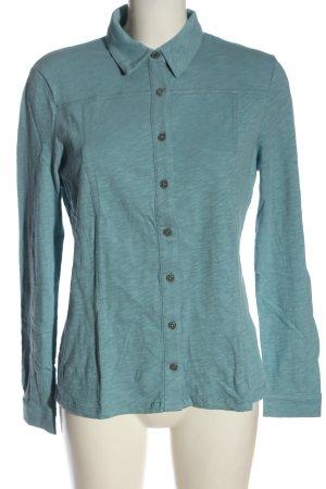 Boden Polo Shirt blue flecked casual look