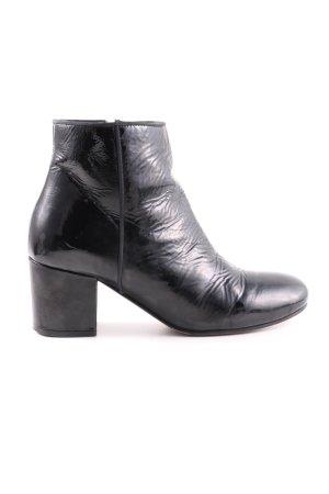 Boden Reißverschluss-Stiefeletten schwarz Casual-Look