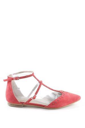 Boden Riemchen-Sandalen pink Punktemuster Casual-Look