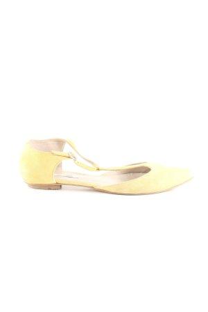 Boden Riemchen-Sandaletten blassgelb Casual-Look