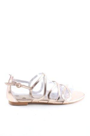 Boden Sandalen met bandjes en hoge hakken goud casual uitstraling