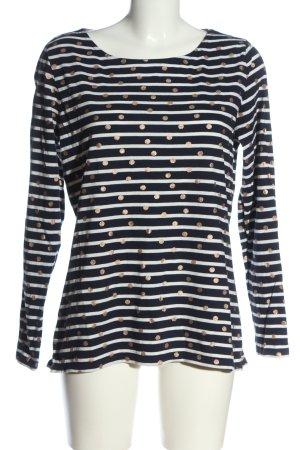 Boden Stripe Shirt spot pattern casual look