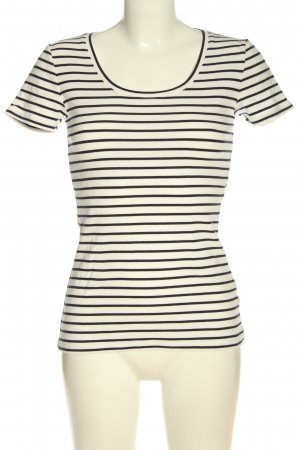 Boden Stripe Shirt white-black allover print casual look