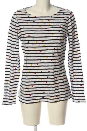 Boden Stripe Shirt white-black allover print casual look