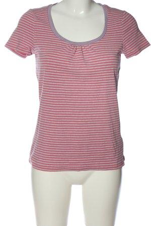 Boden Gestreept shirt roze-lichtgrijs volledige print casual uitstraling