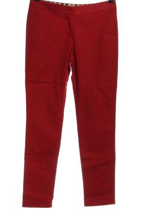 Boden Spodnie rurki czerwony W stylu casual