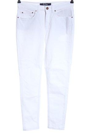 Boden Pantalon cigarette blanc style décontracté