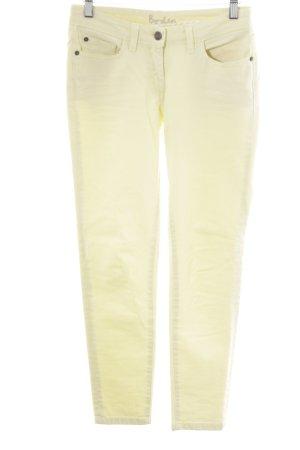 Boden Röhrenhose limettengelb-blassgrün Casual-Look